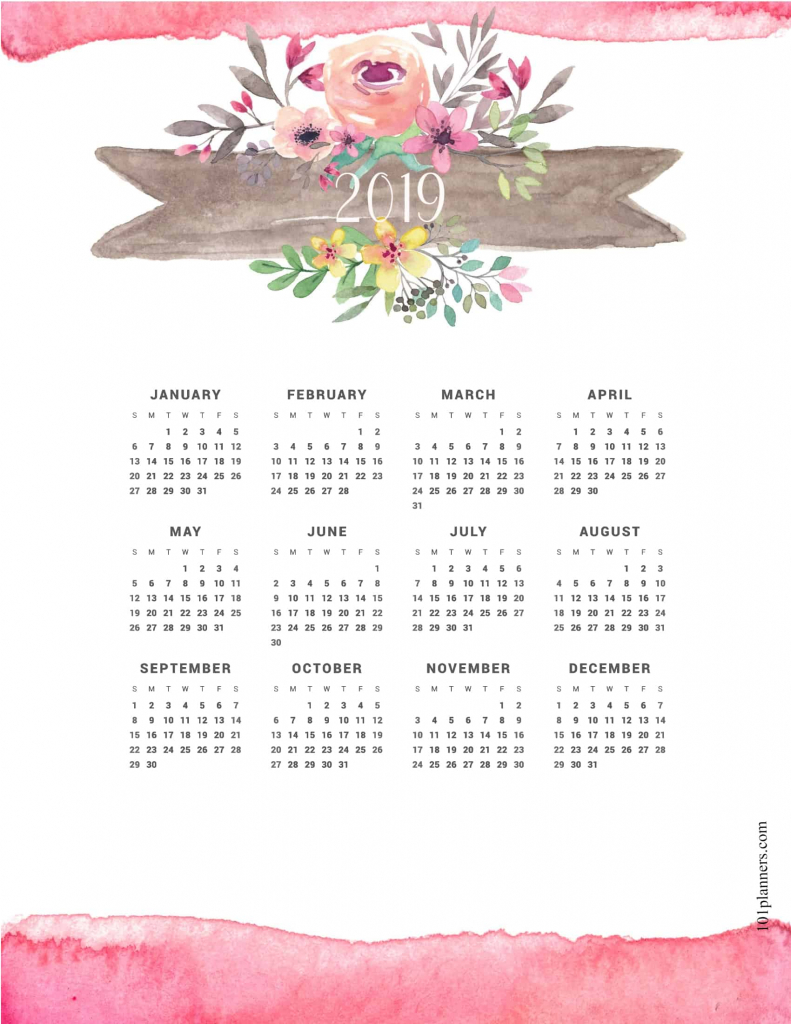 2019 calendar lose weight calendar printable 2020 1