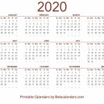 2020 Calendar Free Printable Yearly Calendar 2020 2020 Time And Date Calendar