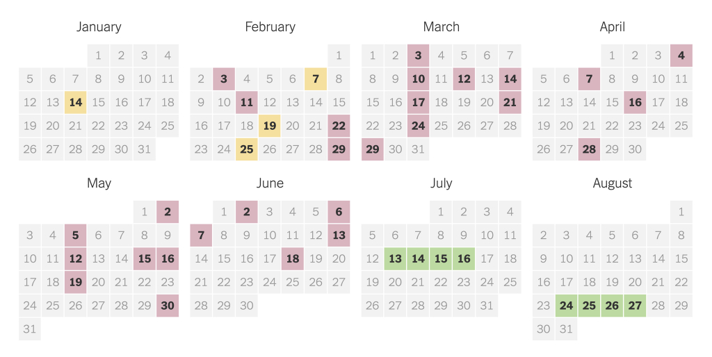 2020 presidential primary election calendar the new york times second department calendar
