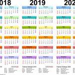 3 Year Calendar Printable Calepmidnightpigco Free Printable Multi Year Calendar