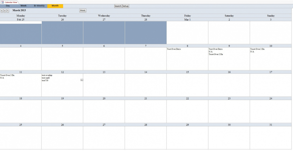 3d9 access scheduling template wiring resources ms access calendar template