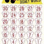 7 Best Images Of Disneyland Countdown Calendar Printable Free Disney Countdown Calendar Printable