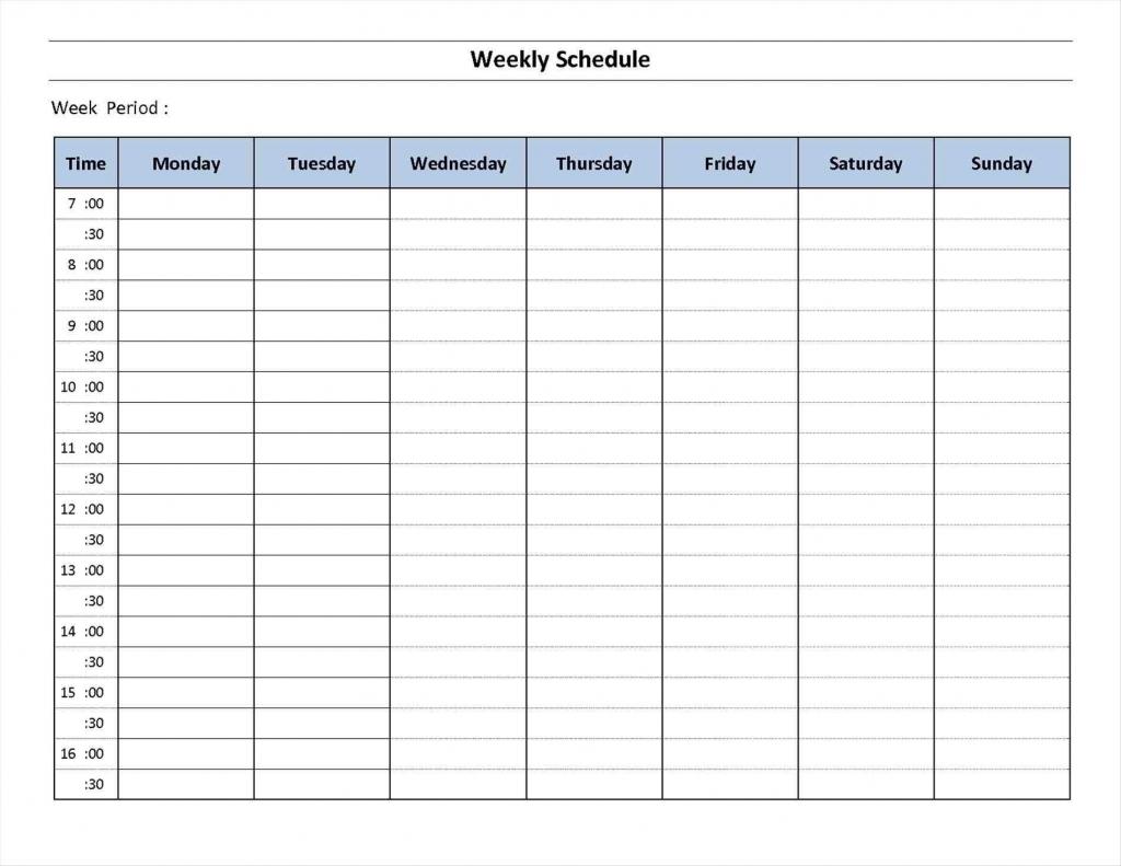 7 day week blank calendar printable calendar inspiration blank 7 day