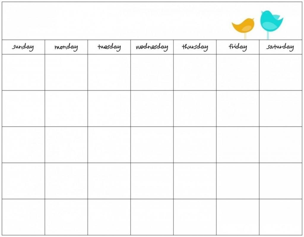blank 7 day calendar to print free calendar template example blank 7 day
