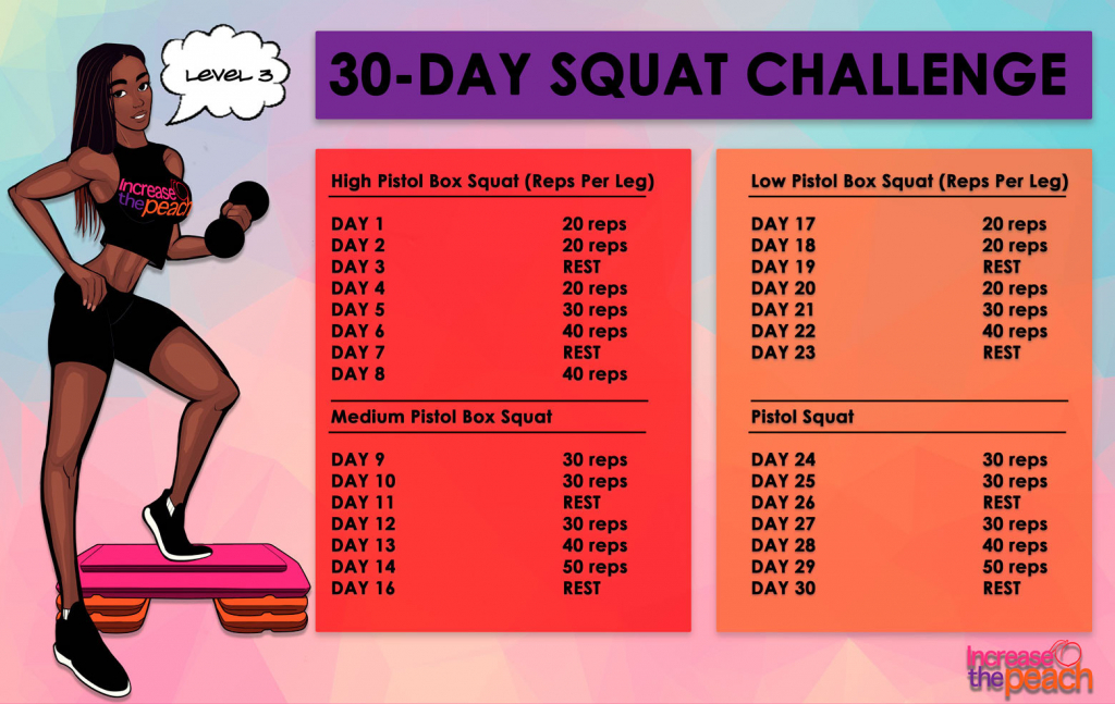build a booty with this 30 day squat challenge page 5 of 5 squat october 2020