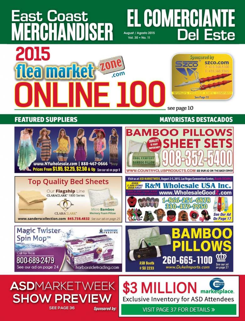 calamo east coast merchandiser 08 15 meadowlands flea market calendar 2020