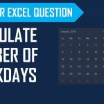 Calculate Number Of Workdays Between Two Dates Excluding Weekends Holidays Count Down To Retirement Minus Weekends