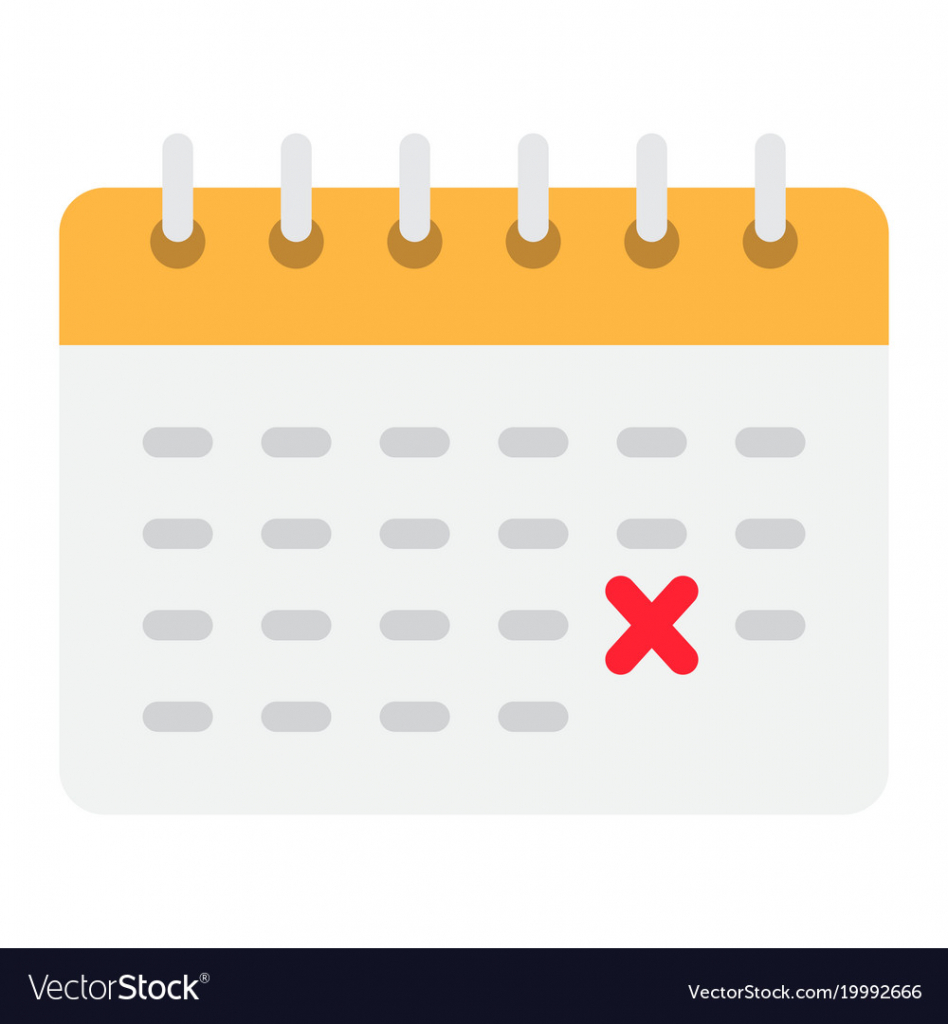 Calendar Flat Icon Time And Date Reminder Time&date Calendar