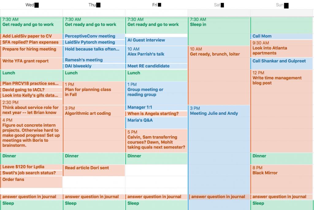 calendar not to do lists noteworthy the journal blog a calendar for time management