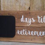 Countdown Calendar Retirement Countdown Wedding Countdown Countdown To Retirement Calendar