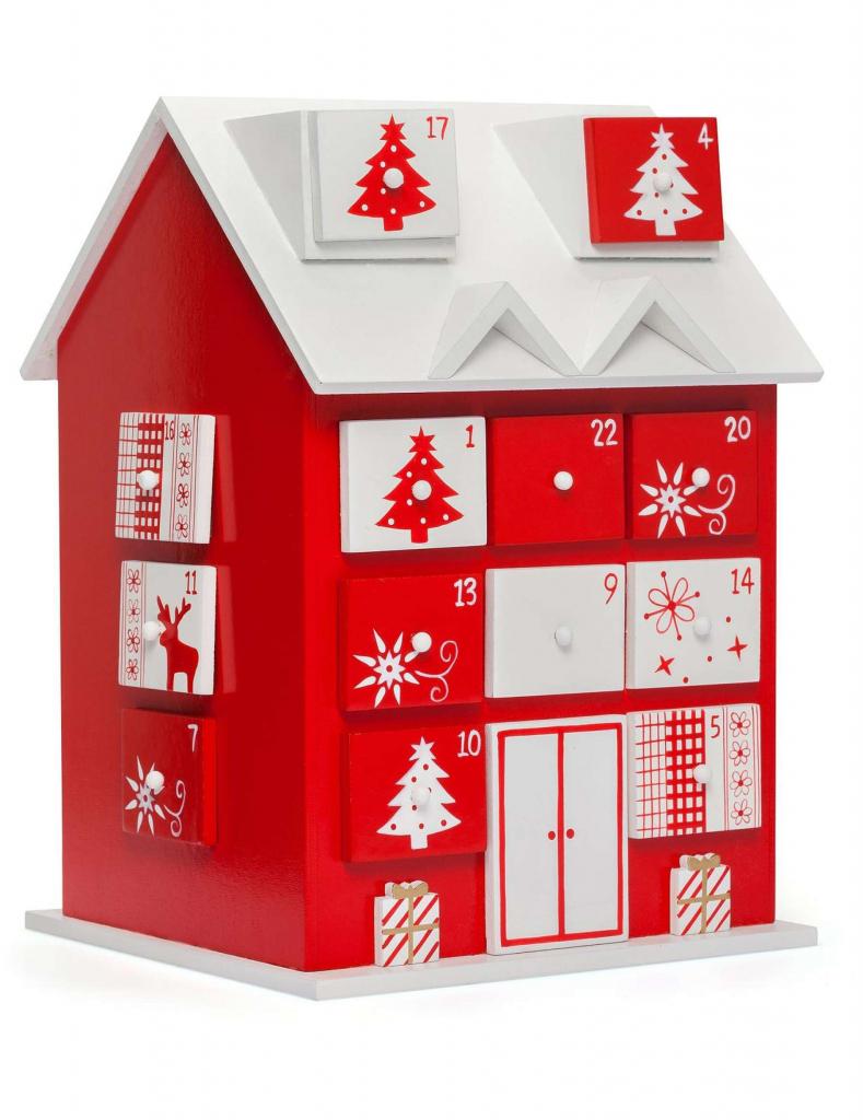 david jones christmas shop wooden advent calendar house christmas vacation advent house kit printable