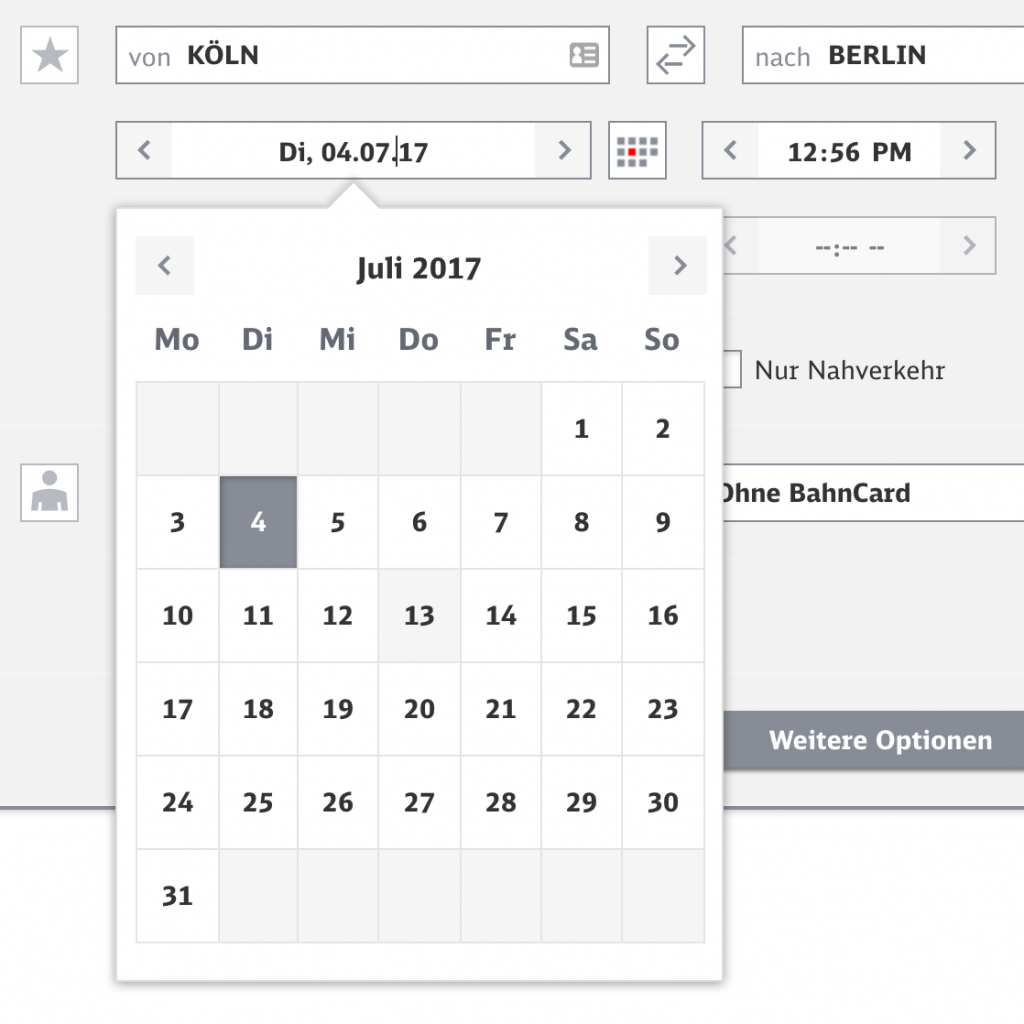 designing the perfect date and time picker smashing magazine timedate calendar