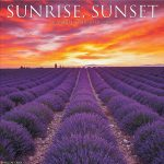 Details About Sunrise Sunset Wall Calendar Yearly Sunrise And Sunset Calendar