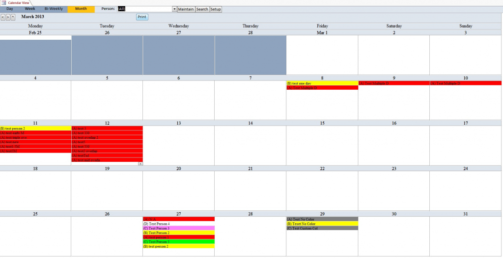enhanced calendar scheduling database template calendar ms access calendar template