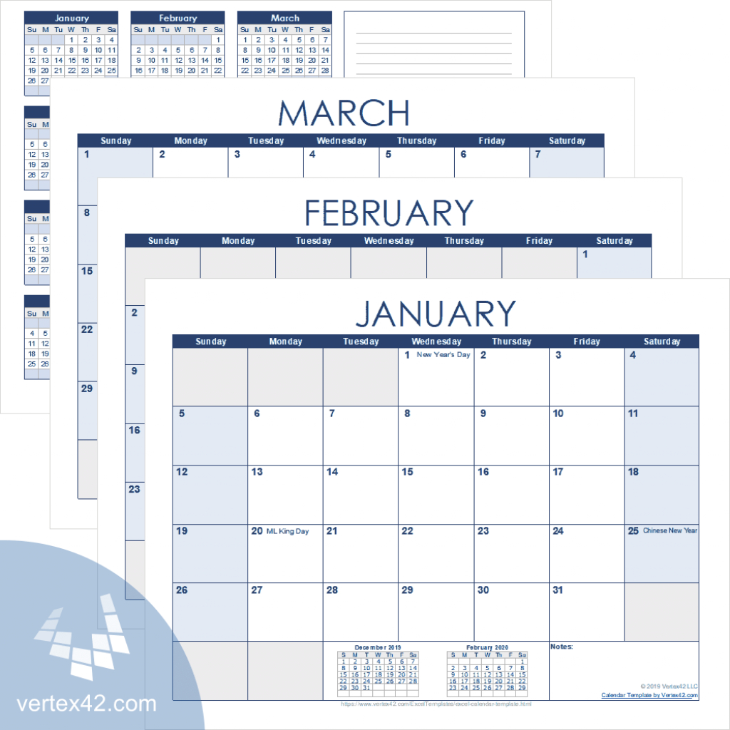 excel calendar template for 2020 and beyond create a calendar printable