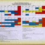 Extc Department Academic Calendar For Even Sem Second Half Second Department Calendar