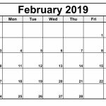 February 2019 Calendar Editable Blank Calendar Template Free Printable Calendars You Can Type In