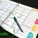 Free Teacher Planner Playdough To Plato Free Editable Teacher Schedule Template 1