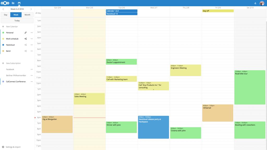 github nextcloudcalendar calendar app for nextcloud open source calendar template