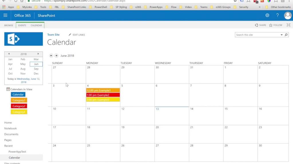 how to customize sharepoint calendar colors sharepoint 2020 calendar color coding