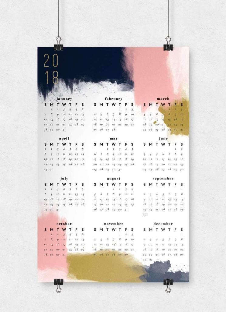 modern abstract wall calendar 11x17 wall calendar 11x 17 paper 2020 calendar