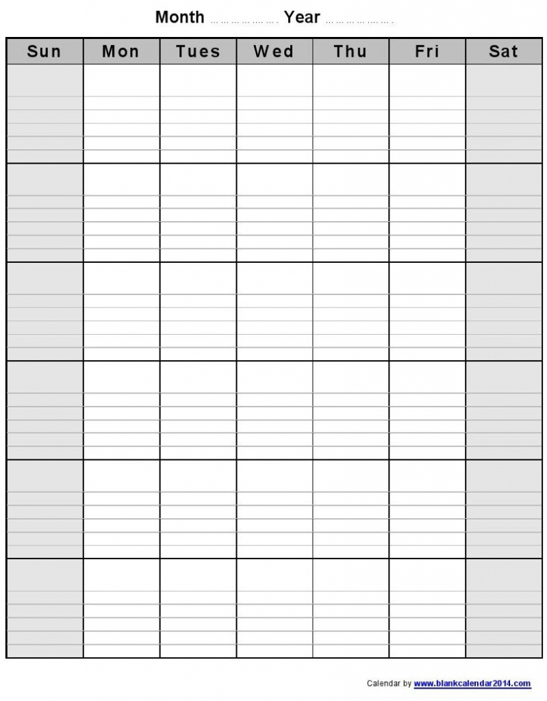 monthly blank calendar notes potrait 1 8141043 pixels blank printable calendar with lines