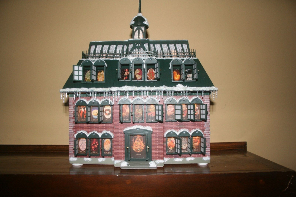 national lampoons christmas vacation advent house calendar christmas vacation advent house