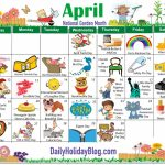 On This Site Every Month You Can Download Or Print Out An Cutecalendar Weird Holidays