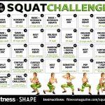 Pin On Fitness Https Www 30 Day Squat Calendar