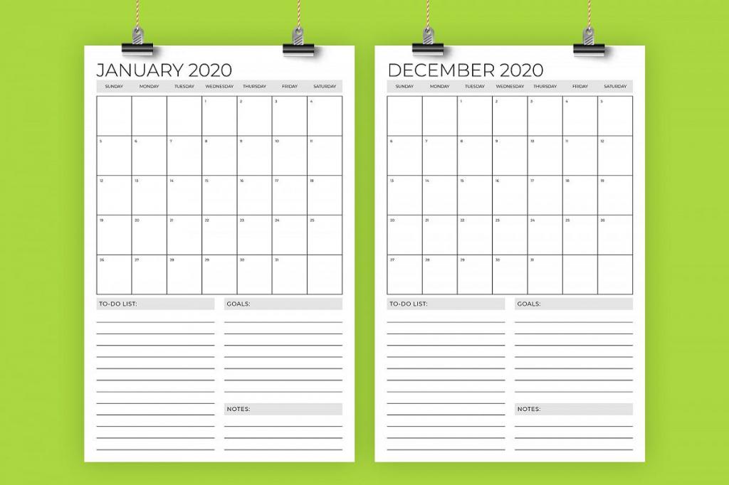 print 2020 calendar 11x17 calendar printables free templates 11x 17 paper 2020 calendar