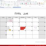 Printable Calendar For Pdf Create A Calendar Printable