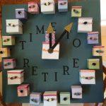 Retirement Countdown Calendar Retirement Board Countdown To Retiremtn Calendar