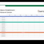 Scheduling Spreadsheet Free Project Management Emplates Msworks Calendar Download