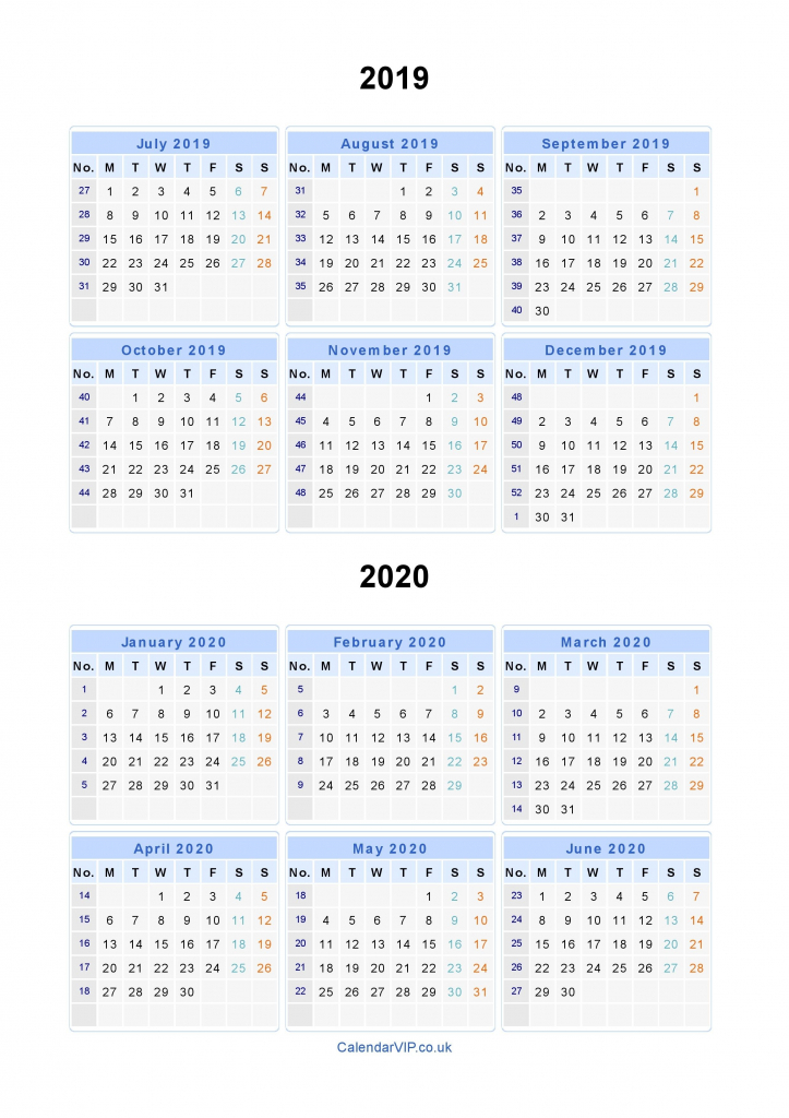 split year calendars 2019 2020 calendar from july 2019 to monthly calendar with split