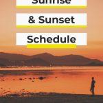 Sunset On Koh Samui When Are Sunrise And Sunset On Koh Samui Yearly Sunrise And Sunset Calendar