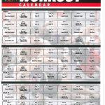 Tapout Xt Workout Calendarpdf Tap Out Schedule