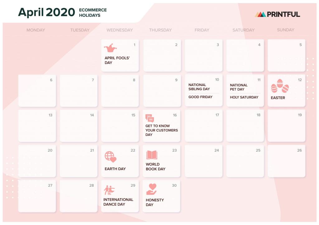 the ultimate 2020 ecommerce holiday marketing calendar trid le calendar 2020 1