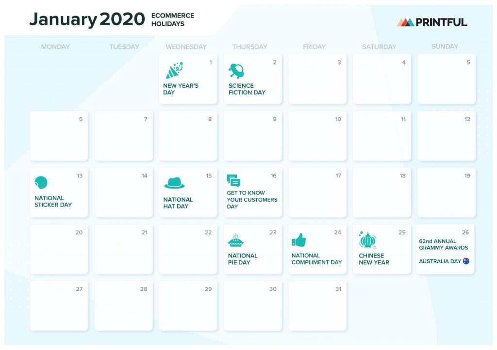 the ultimate 2020 ecommerce holiday marketing calendar trid le calendar 2020