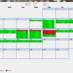 Trying To Make An Efficient Calendar In Microsoft Access Ms Access Calendar Template