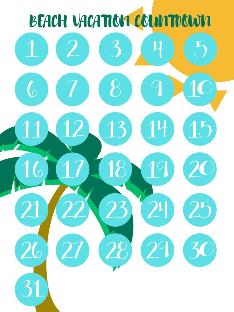 vacation countdown calendars life adventures vacation vacation calendar countdown