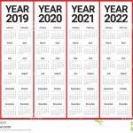 2018 2019 2020 2021 2022 2023 Calendar 5 Year Callendar
