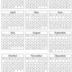2019 Printable Calendar Templates Blank Word Pdf Five Year Printable Calendar