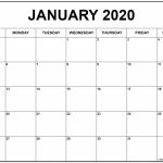 2020 Free Printable 85 X11 Monthly Calendars Calendar 8.5 X11 Free Calendars