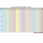 43 Effective Hourly Schedule Templates Excel Ms Word Free Printable Editable Hourly Schedule 1