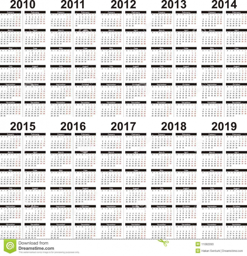 5 year calendar with images 5 year calendar calendar calendar next five years