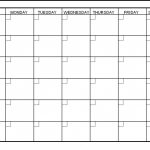 6 Week Printable Blank Calendar Free Calendar Template Example 6 Week Printable Blank Schedule