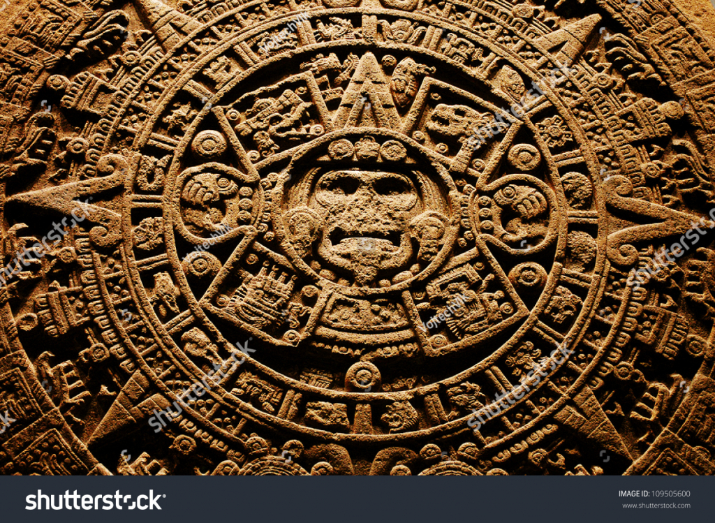 aztec calendar end world 1212 2012 stock image download now aztec calendar end of the world