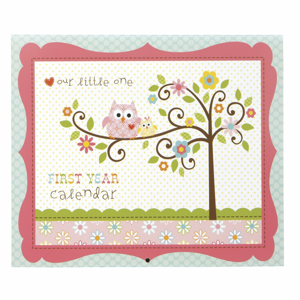 bas first year calendar happi ba girl printable baby first year calendar