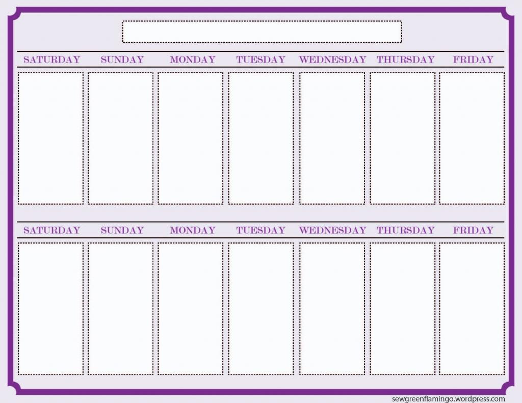 blank two week schedule template free calendar template 2 week calendar template