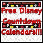 Countdown Calendars Disney Countdown Calendar Disney Disney Countdown Calendar